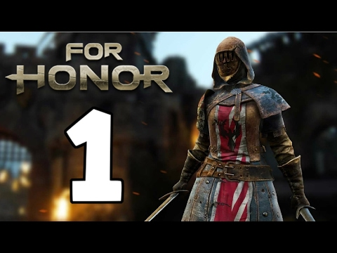 Hacking with the Peacekeeper - For Honor Beta Gameplay - Part 1