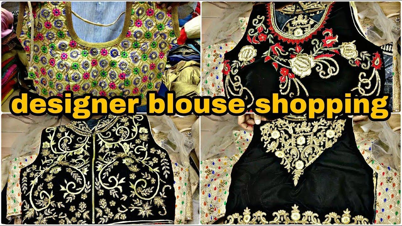 Wholesale Blouse Market Designer Blouse At Cheap Price Chandani
