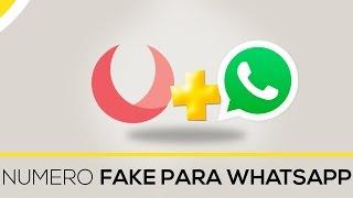 Como Criar Falso Número para Whatsapp (Aplicativo 2 - USA)