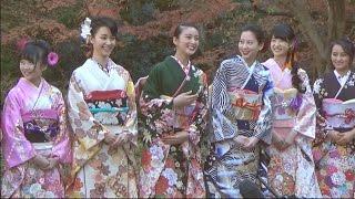 8日、東京都港区内で毎年恒例のオスカーの晴れ着撮影会が行われた。 今...