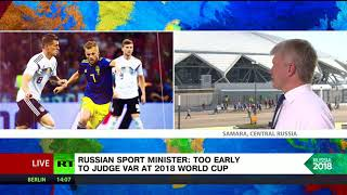 'World Cup a great opportunity to get your own impression of Russia' – Sports Minister