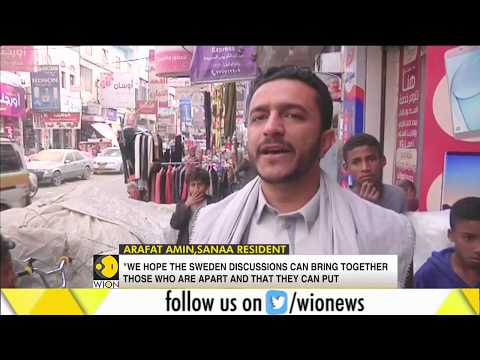 Yemenis hope for peace as talks start in Sweden