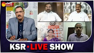 KSR LIVE SHOW | Special Debate On PM Modi Address nation on Covid 19 | Sakshi TV