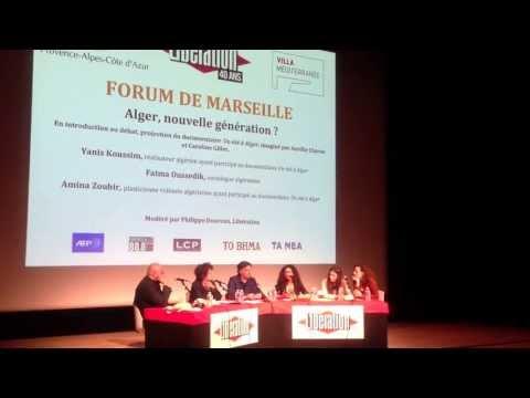 DIRECT,Libération,Forum Marseille:Agir en Méditerranée;Un été à Alger,Documentaire