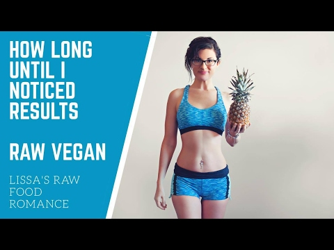 HOW LONG DOES IT TAKE TO NOTICE RESULTS || RAW FOOD VEGAN