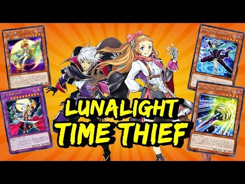 YGOPRO - Lunalight Time Thief Deck 2019 (NEW Time Thief Perpetua)