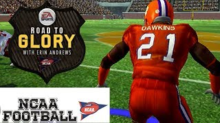 1ST PICK AS A FREE SAFETY - NCAA FOOTBALL 11 PS2 ROAD TO GLORY EP11