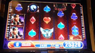 WMS Great Eagle Returns Slot Bonus Win.