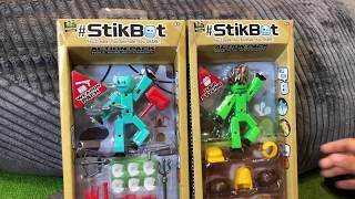 StikBot Battle Animation - StikBot Dinosaurs & Toy Unboxing by Family Toy Review