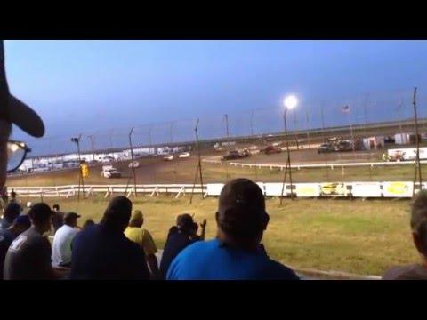 Colin Heim IMCA Hobby Stock Wakeeney Speedway Heat&Feature 7 10 15