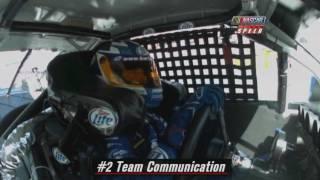 2009 NASCAR Martinsville Spring Race Sprint Cup radio recap HD