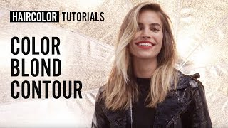 How to get the Blond Contour haircolor? by Siobhan Jones | L'Oréal Professionnel tutorials
