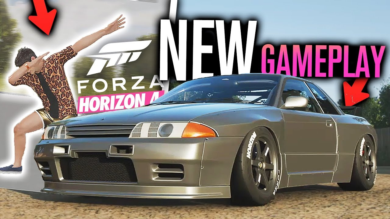 Forza Horizon 4: NEW GAMEPLAY! Customization, BODY KITS, Houses, Emotes,  Outfits, Spacers & MORE!!!