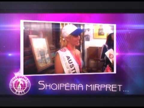 Miss Globe 2011, NOVEMBER 01, TIRANA - ALBANIA
