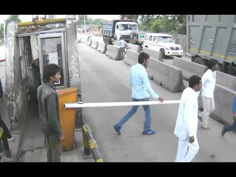 Haryana Gurgaon Faridabad Toll Road
