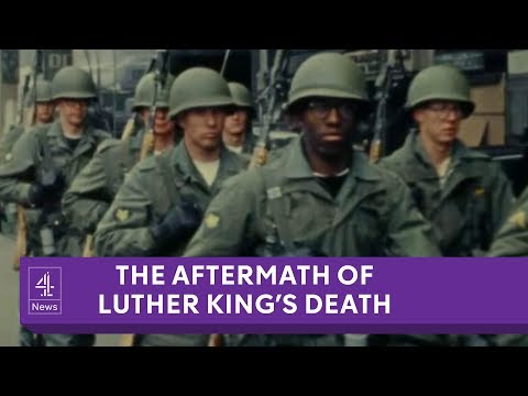 Martin Luther King Jr's death: the aftermath revisited by those who were there