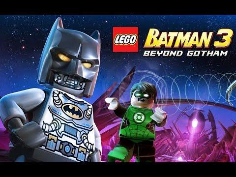 LEGO Batman 3 Beyond Gotham Pelicula Completa en Español 1080p (Game Movie)