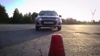 2016 06 22 Наталья, начальное обучение вождению и контраварийная подготовка!