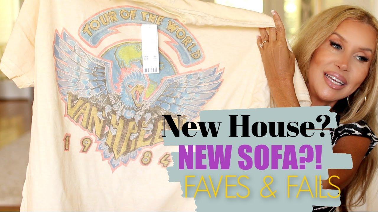 Friday Haul~ New House~New Sofa?!