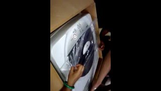 unboxing video of lg washing machine