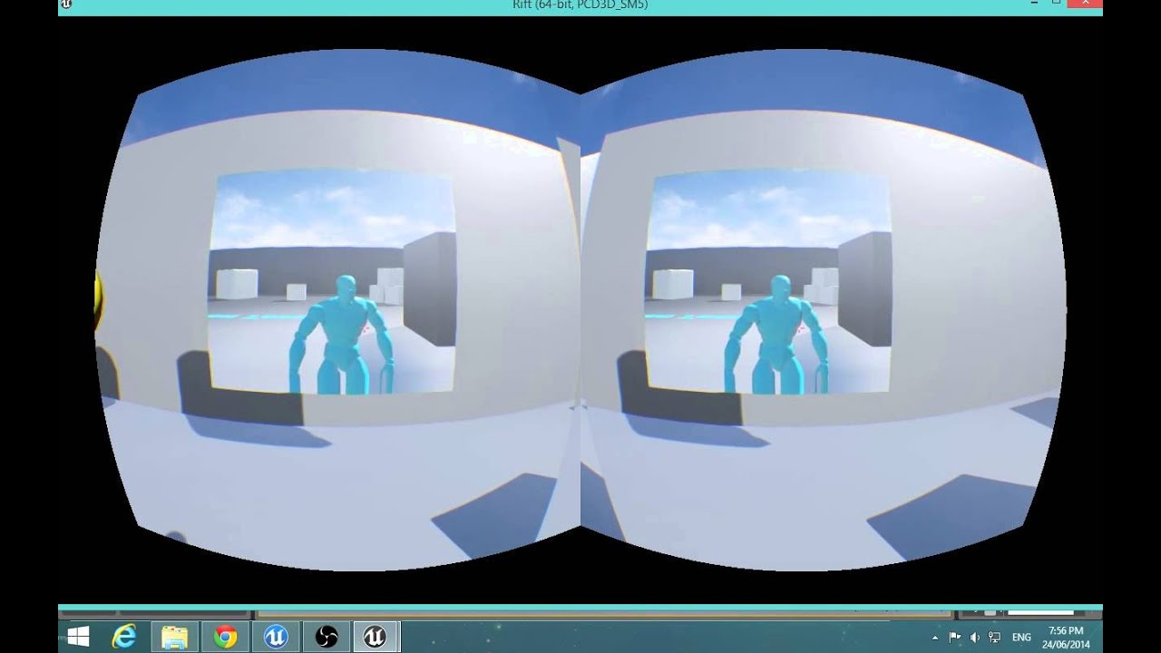 how to make a vr game in unreal