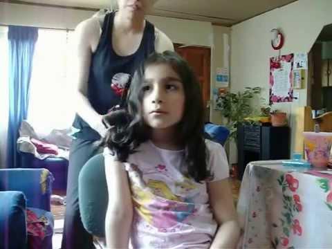 Como hacer rulos en las puntas del cabello (Tutorial