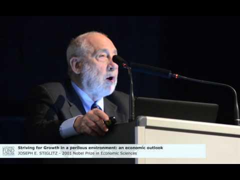 J.E. Stiglitz, 2001 Nobel Prize in Economic Sciences @Lugano Fund Forum 2015