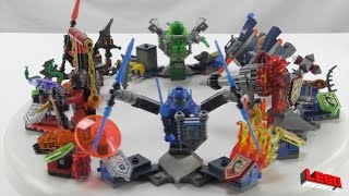 Lego NEXO Knights ULTIMATES (sets 75030, 75031, 75032, 75033, 75034, 75035) - Speed Builds