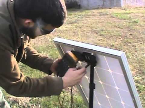 100 WATT 12 VOLT HURRICANE WIND POWER SOLAR PANEL REVIEW