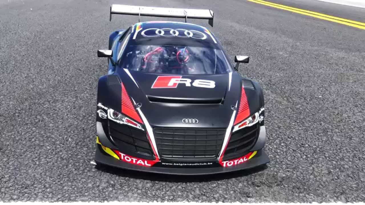 losi audi r8 1 6 scale awd supercar first run 4s youtube. Black Bedroom Furniture Sets. Home Design Ideas