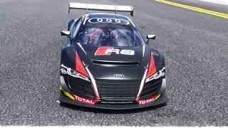 Losi Audi R8 1/6-Scale AWD Supercar - First Run 4s