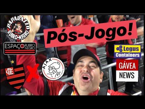 Pós-Jogo: Flamengo 2 (4) x (3) 2 Ajax! Vitória nos Pênaltis na #FLORIDACUP e Doc do Paparazzo!