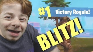 Breaking Down a Fortnite Blitz Squads Game I WON!