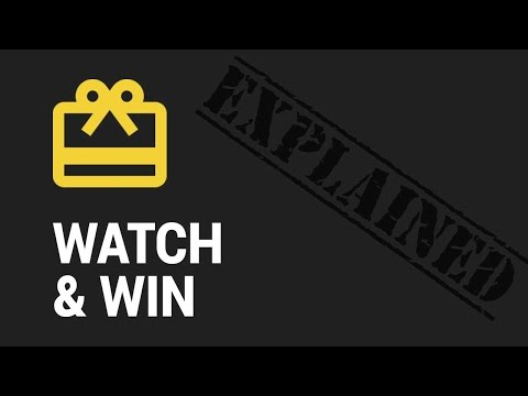 Watch & Win Contests Module