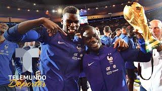 Pogba y Kanté mostraron bajísimo nivel hasta que llegó el Mundial   Qué momento   Telemundo Deportes
