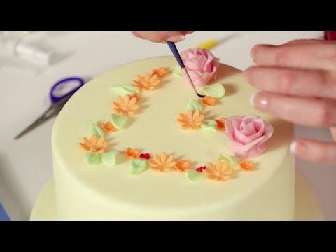 Diy blumentopf torte 2 teil torten dekorieren mit for Blumentopf dekorieren anleitung