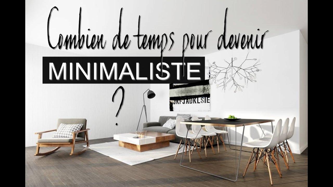 combien de temps pour tre minimaliste youtube. Black Bedroom Furniture Sets. Home Design Ideas