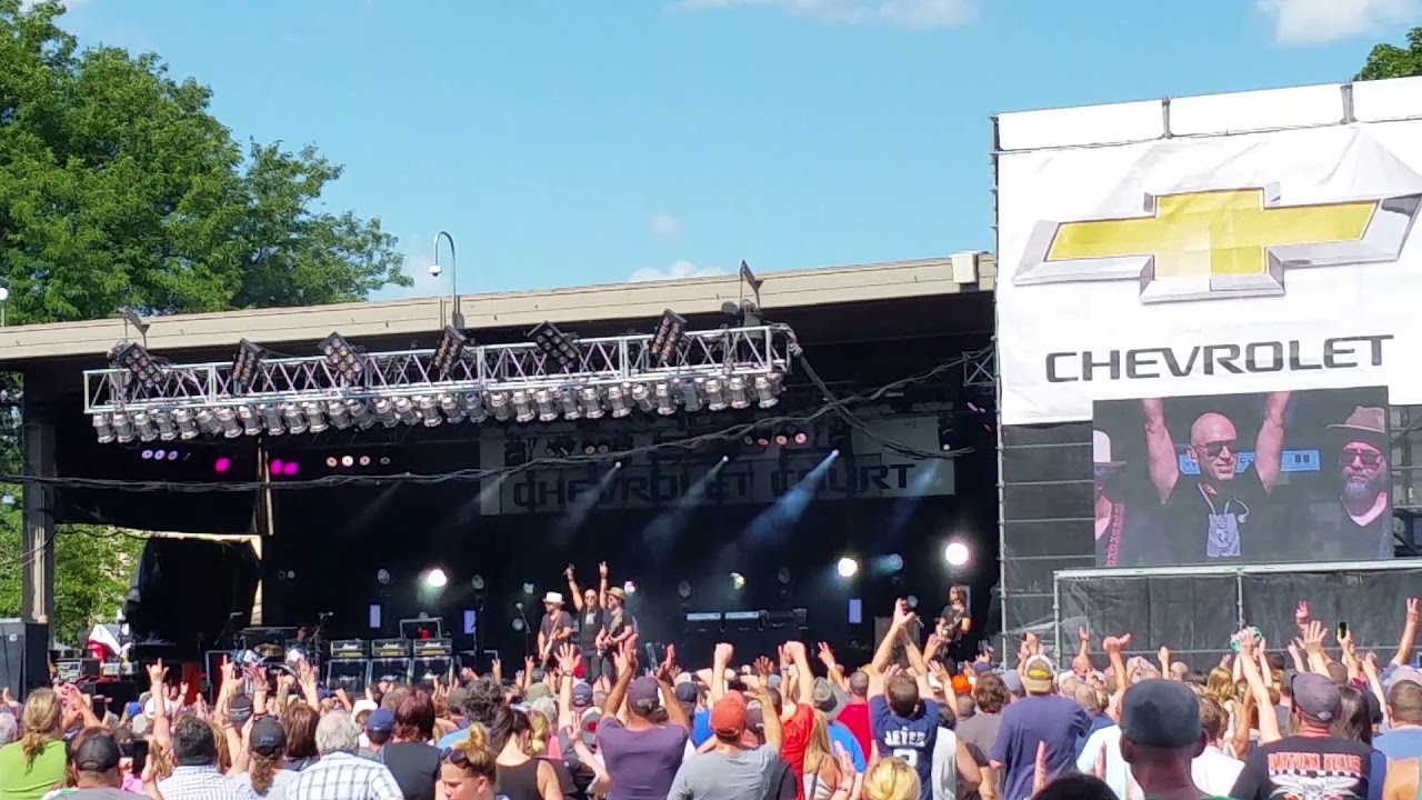 Live Lightning Crashes Chevy Court The Great Nys Fair 08 25 18