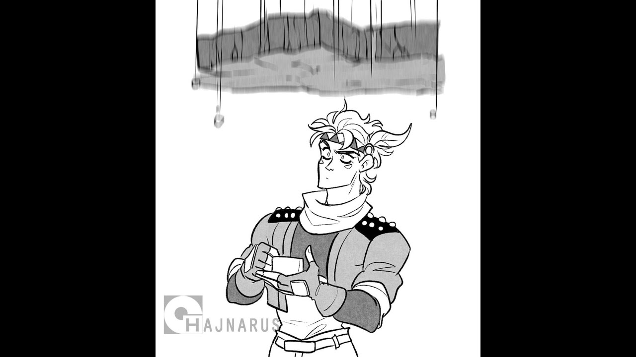 JoJo's Bizarre Adventure Comic Dub - Caesar Is Stoned  (JOJO COMIC DUB) Comic by Hajnarus #short