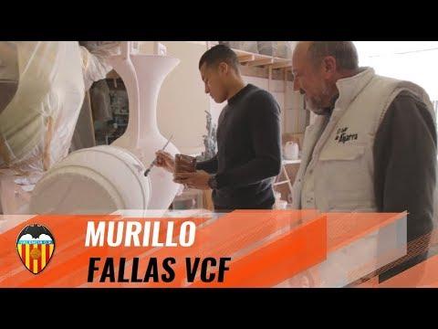 JEISON MURILLO, FALLAS ARTIST FOR THE DAY