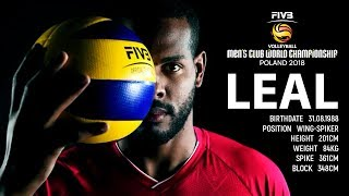 Yoandy Leal The Best of FIVB Men CWCH 2018