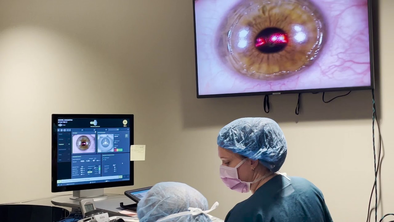 Download Live PRK Procedure at Commonwealth Eye Surgery