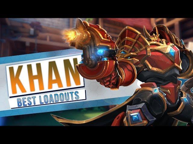 KHAN, New Paladins Champion - Best Loadouts | OB69 PTS