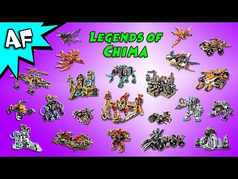 Lego Legends of Chima Collection!