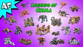 Lego Legends of Chima Collection