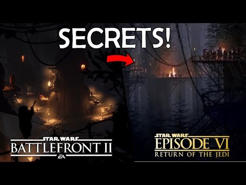 Things You MISSED In The EWOK HUNT Trailer! - Star Wars Battlefront 2 Night On Endor thumbnail