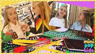 Back to School Shopping - MPK VLOGS, Ep. 1 | Mini Pop Kids