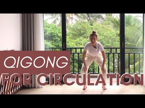 10 Minute Qigong for Leg Circulation - Improve Strength, Balance, Stability