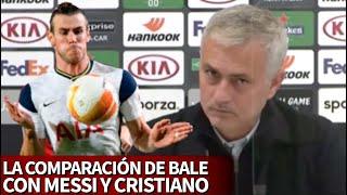 Preguntan a Mou por el fútbol de Bale y hace una semejanza con Messi y Cristiano | Diario AS