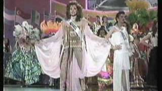 Miss Universe 1991- Parade of Nations